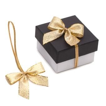 Verpackungsschleifen 70 mm gold gold