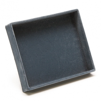 TE-Einlage 125x105 mm 1 Gefach 120x100 mm, leer