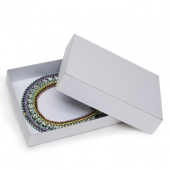 Geschenk-Kartons weiß
