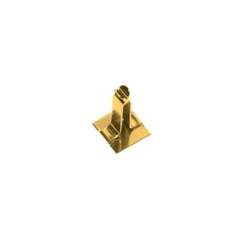 Creolenhäkchen goldfarben 10 mm