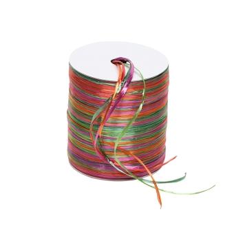"""Zierband """"Multicolor"""" 50 lfm"""