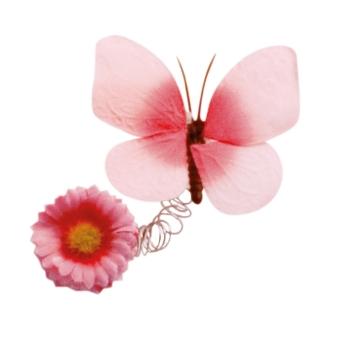 Schmetterlinge pink