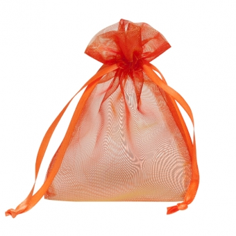 Organzabeutel 100x140 mm orange
