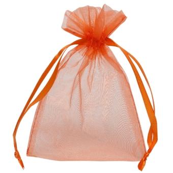 Organzabeutel 150x240 mm orange