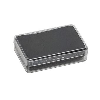 Klarsichtdose 53x33x12 mm schwarz