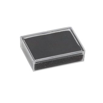 Klarsichtdose 45x35x10 mm schwarz