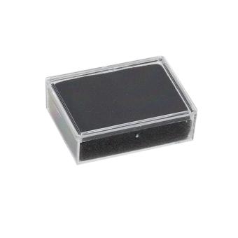 Klarsichtdose 45x35x13 mm schwarz