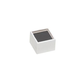 Klarsichtdose 20x20x15 mm schwarz