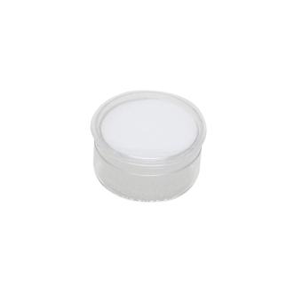 Klarsichtdose 27 mm Ø x 13 mm weiß