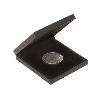 Münz- + Medaillenetuis 70x75x10 mm 40 mm Ø