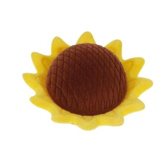 Etui Sonnenblume gelb/braun