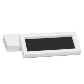 Schmuck-Schiebebox 175X75X19 mm weiß | schwarz