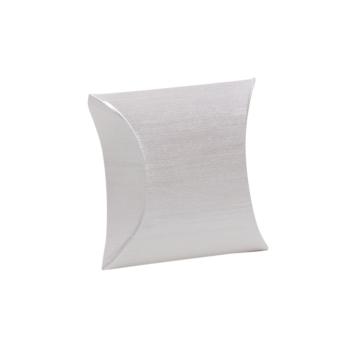 Fix-Box 80x60 mm Seidenkarton weiß