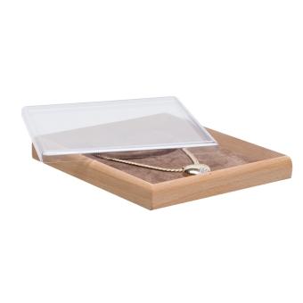 Combi-Abdeckplatte flach, Klarsichtfolie