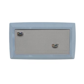 TE-Ständer 220x110/250x140 mm für 24 Ringe taubenblau | grau