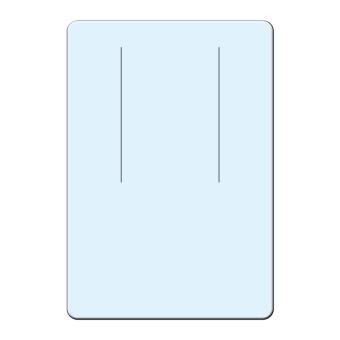 Ohrringkarten 38x55 mm