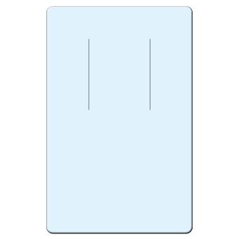 Ohrringkarten 45x70 mm hoch