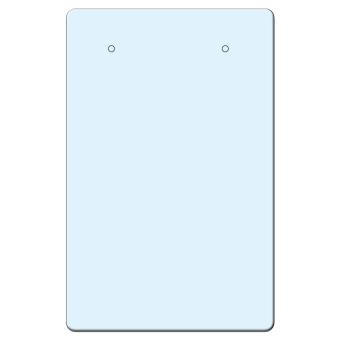 Behangsteckerkarten 45x70 mm