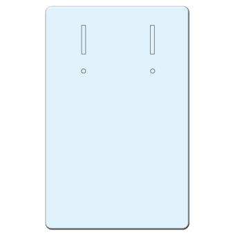 Brisurenkarten 45x70 mm