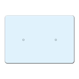 Ohrsteckerkarten 55x38 mm