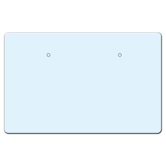 Ohrsteckerkarten 70x45 mm quer