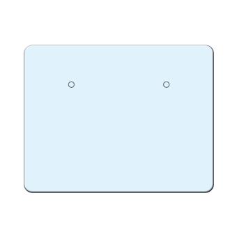 Ohrsteckerkarten 45x35 mm quer