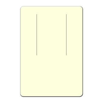 HS. Ohrringkarten 38x55 mm hoch