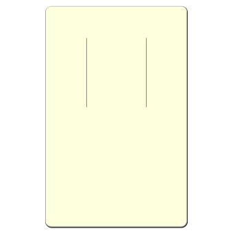 HS. Ohrringkarten 45x70 mm hoch