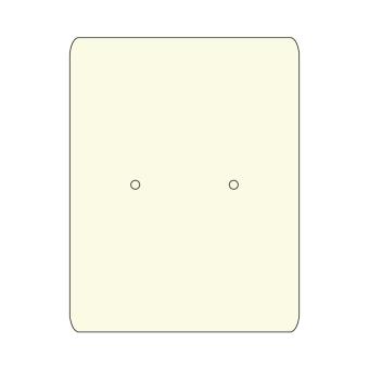 HS. Ohrsteckerkarten 35x45 mm