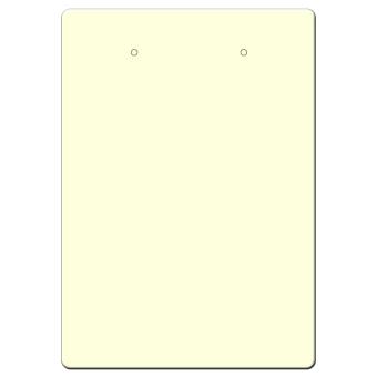HS. Ohrsteckerkarten 55x78 mm hoch