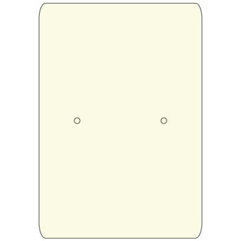 HS. Ohrsteckerkarten 38x55 mm