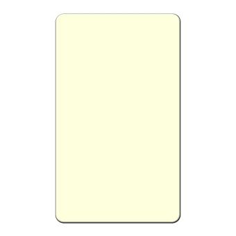 HS. Broschkarten 30x50 mm hoch