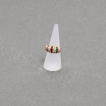 Ringständer-Spitzkegel 25X60 mm gefrostet