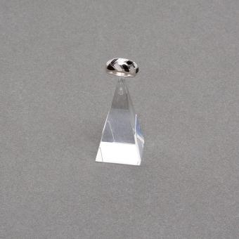 Plexiglas-Ring-Pyramide 30x30x55 mm