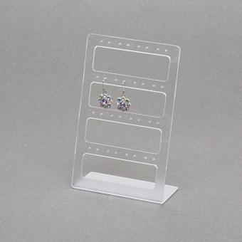 Plexiglas-Ohrsteckerständer