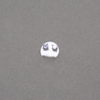 Ohrstecker-Ständer 25 mm Acryl