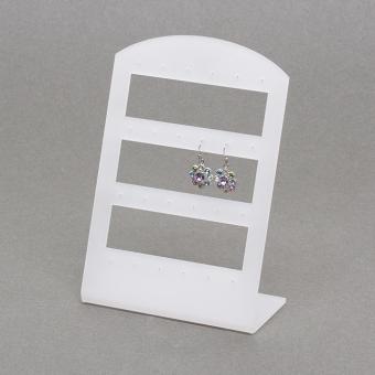 Plexiglas-Ohrsteckerständer gefrostet