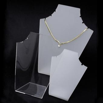 Plexiglas-Collierständer 3-teilig transparent