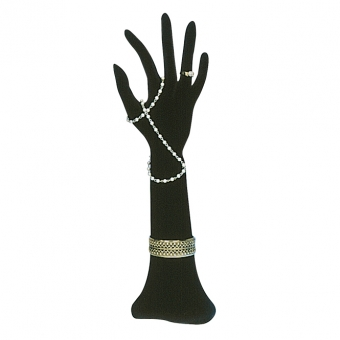 Schmuckhand 35 cm hoch biegsam