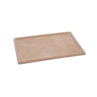 Deko-Vorlagetablett 320x220 mm PIG   sand