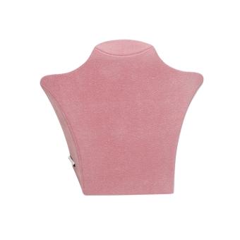 Papp-Büste 135x125 mm klein pink