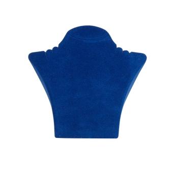Papp-Büste 135x125 mm klein königsblau