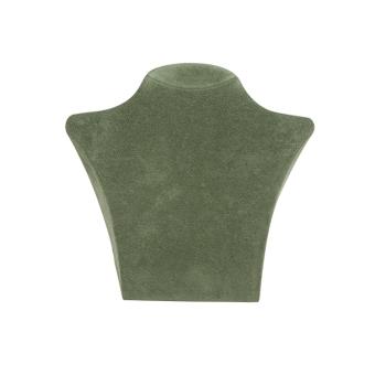 Papp-Büste 135x125 mm klein mintgrün