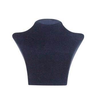 Papp-Büste 198x183 mm mittel dunkelblau
