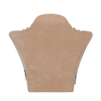 Papp-Büste 260x238 mm groß sand