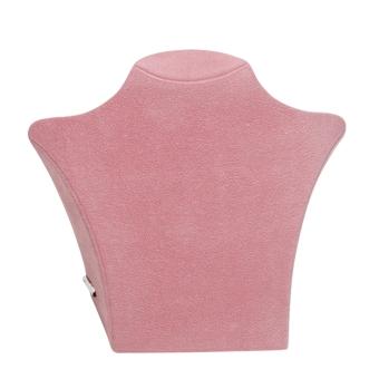 Papp-Büste 260x238 mm groß pink