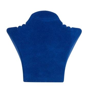 Papp-Büste 260x238 mm groß königsblau