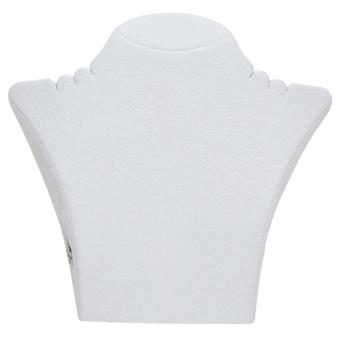 Papp-Büste 290x265 mm groß weiß