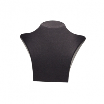 Papp-Büste 125x135 mm schwarz