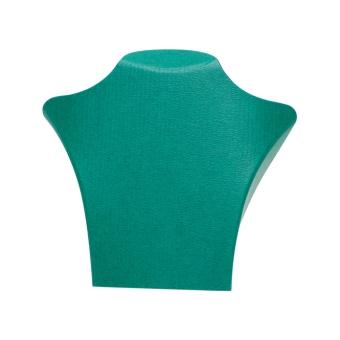 Papp-Büste 195x180 mm grün